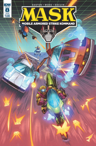 M.A.S.K.: Mobile Armored Strike Kommand #8 (Subscription Cover)