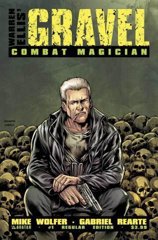 Gravel: Combat Magician #1