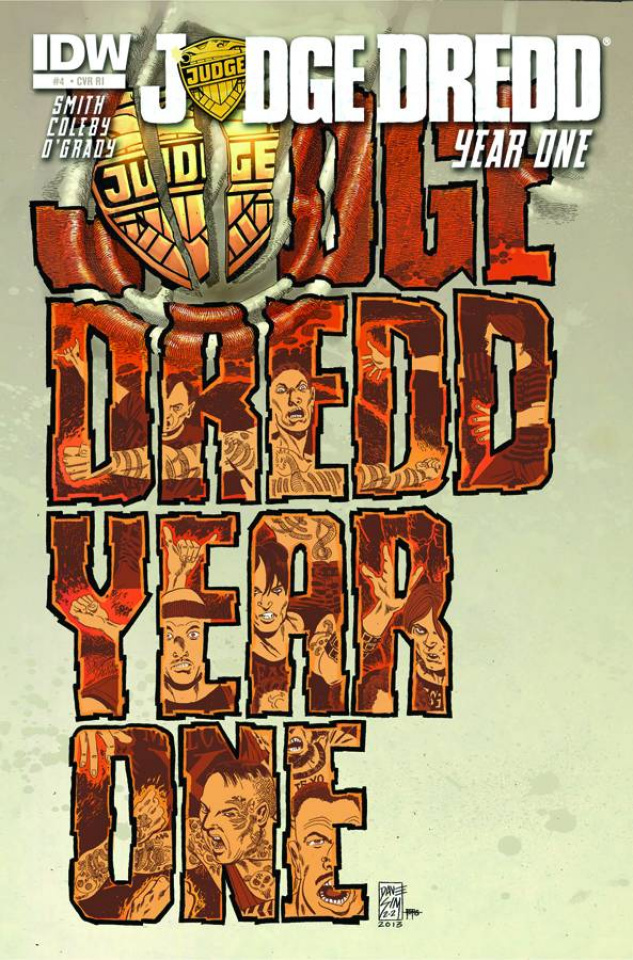 Judge Dredd: Year One #4 (25 Copy Cover)