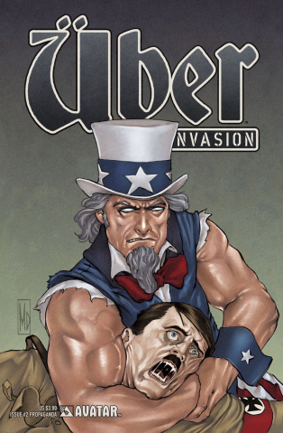 Über: Invasion #2 (Propaganda Poster Cover)