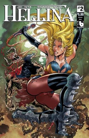 Hellina #2 (Enforcer Cover)