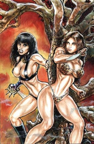 Cavewoman / Raptorella #1 (Massey Cover)
