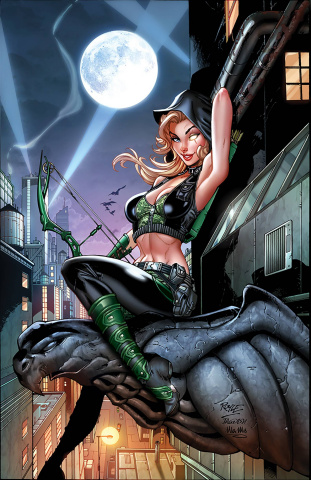 Robyn Hood: Cult of the Spider (John Royle Cover)