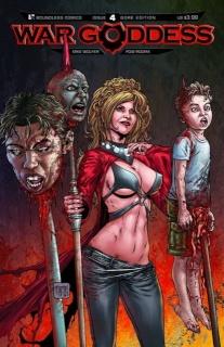War Goddess #4 (Gore Cover)