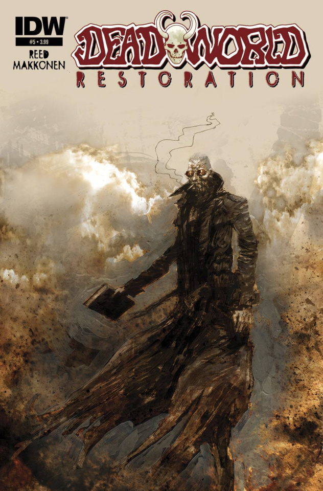 Deadworld: Restoration #5 (Subscription Cover)