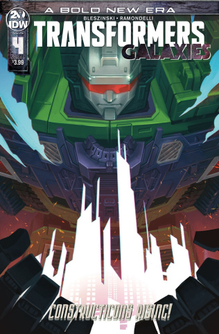 The Transformers: Galaxies #4 (Pitre-Durocher Cover)