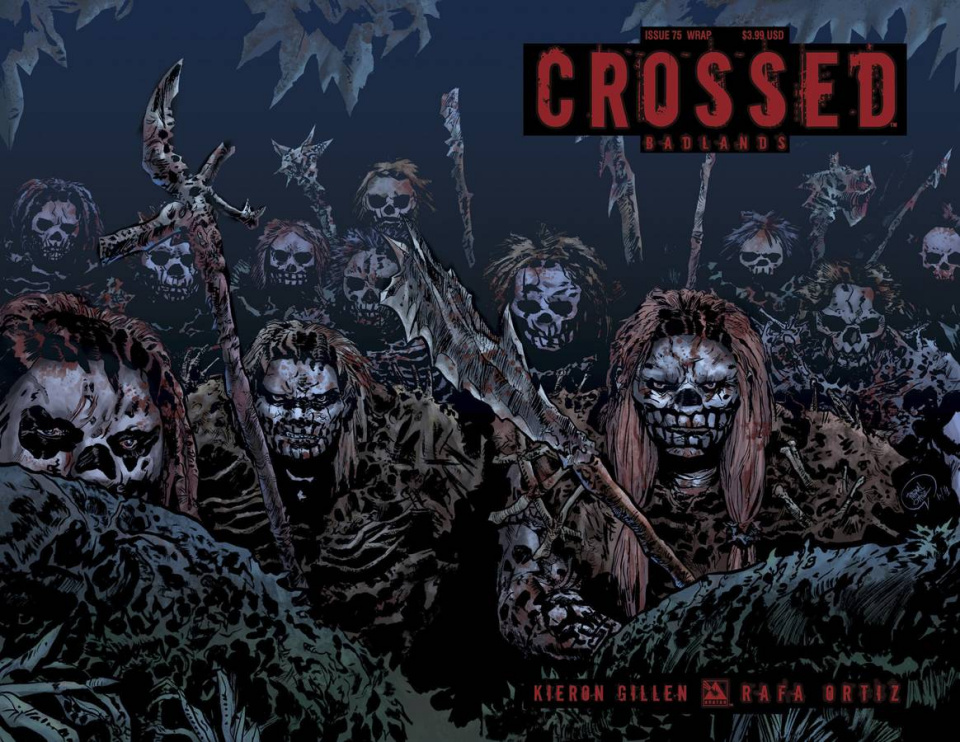 Crossed: Badlands #75 (Wrap Cover)