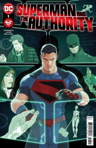 Superman and The Authority #1 (Mikel Janin Cover)