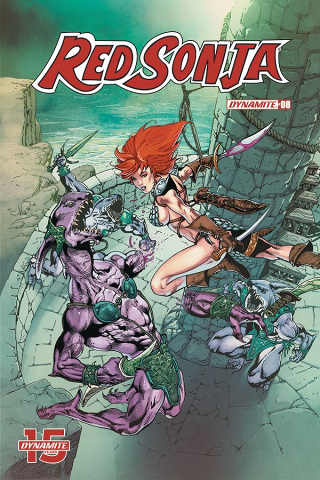 Red Sonja #8 (7 Copy Castro Cover)