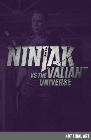 Bloodshot's Day Off #1 (Ninjak vs. the Valiant Universe Cover)