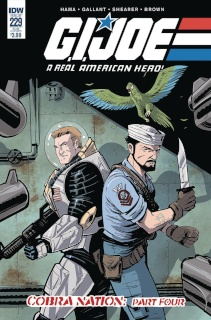 G.I. Joe: A Real American Hero #229 (Subscription Cover)