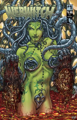 Webwitch #1 (Alien Seduction Cover)