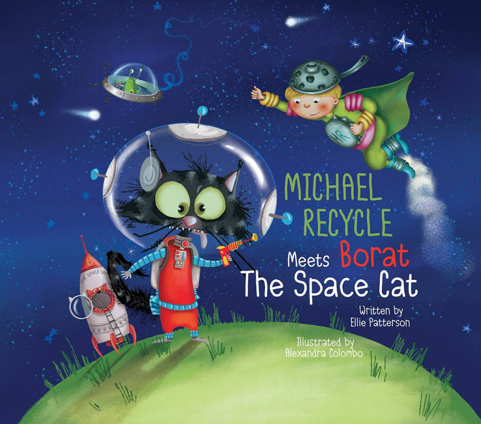Michael Recycle M<eets Borat the Space Cat