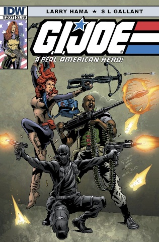 G.I. Joe: A Real American Hero #207