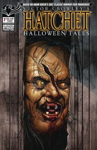 Hatchet: Halloween Tales #1 (Bonk Parody Cover)