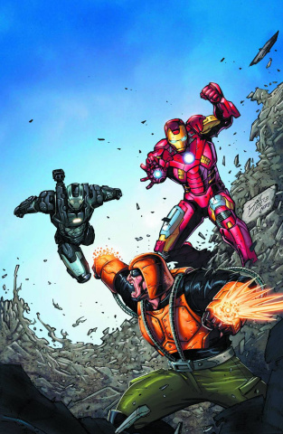 Iron Man: The Coming of Melter #1