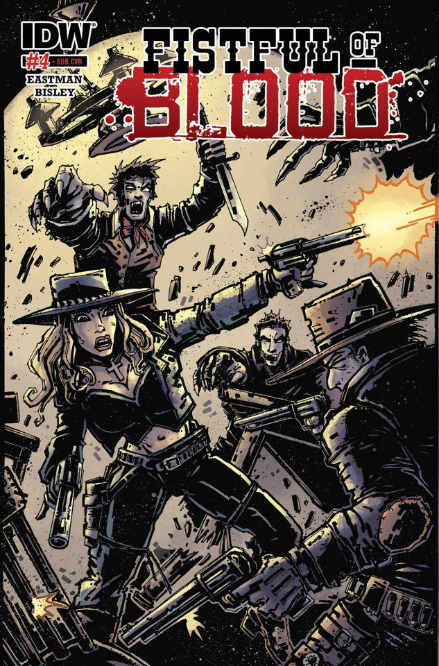 Fistful of Blood #4 (Subscription Cover)