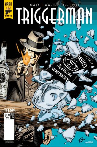 Hard Case Crime: Triggerman #5 (Scott Cover)