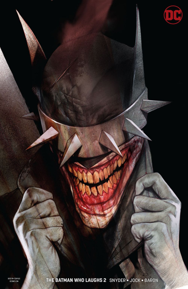 The Batman Who Laughs #2 (Variant Cover)