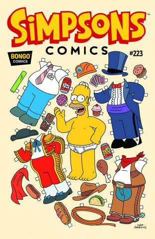 Simpsons Comics #223