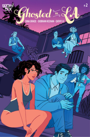 Ghosted in L.A. #2 (Keenan Cover)