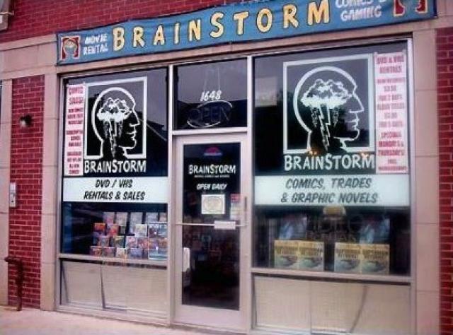 Brainstorm Movies, Comics & Gaming
