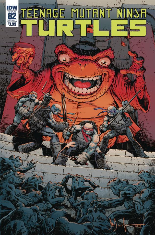 Teenage Mutant Ninja Turtles #82 (Wachter Cover)
