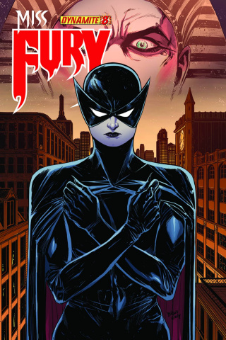 Miss Fury #8 (Evely Cover)