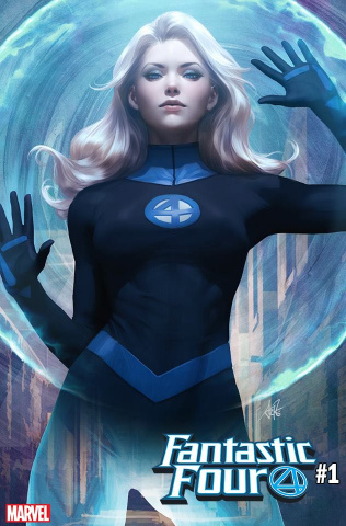 Fantastic Four #1 (Artgerm Invisible Woman Cover)