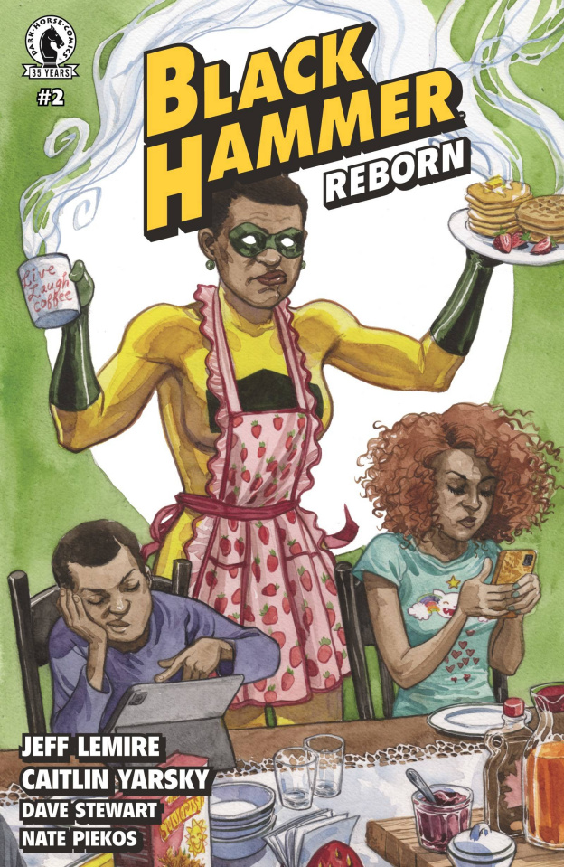 Black Hammer: Reborn #2 (Thompson Cover)