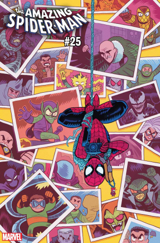 The Amazing Spider-Man #25 (Hipp Cover)