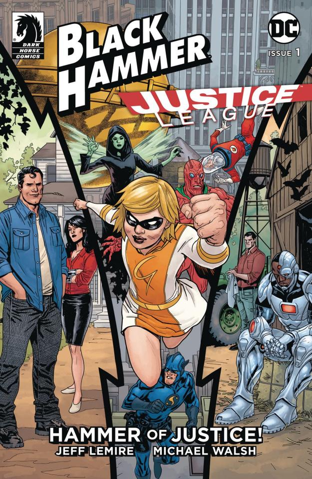 Black Hammer / Justice League #1 (Paquette Cover)