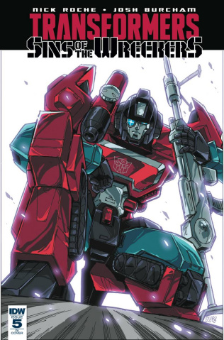 The Transformers: Sins of the Wreckers #5 (10 Copy Cover)