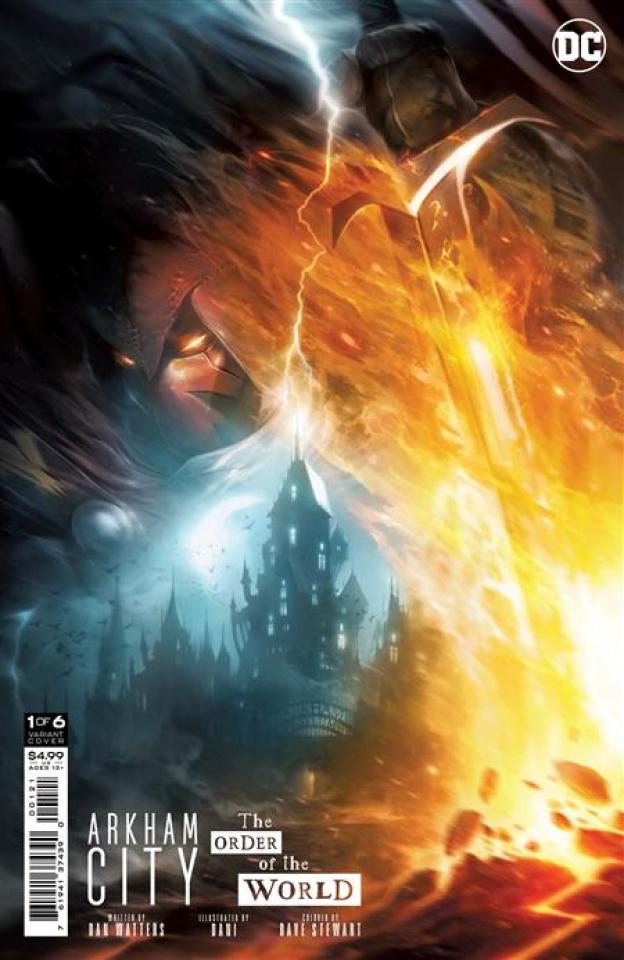 Arkham City: The Order of the World #1 (Francesco Mattina Card Stock Cover)