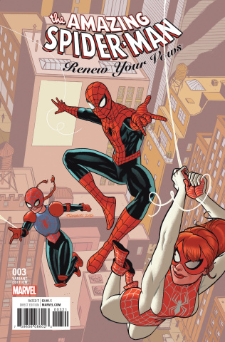 The Amazing Spider-Man: Renew Your Vows #3 (Quinones Cover)