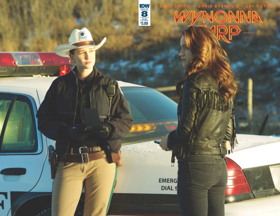 Wynonna Earp #8 (Photo Cover)