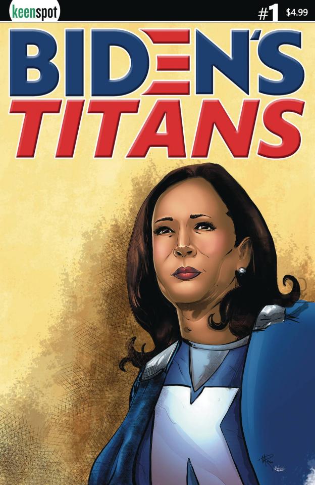 Biden's Titans #1 (Rosenzweig Cover)