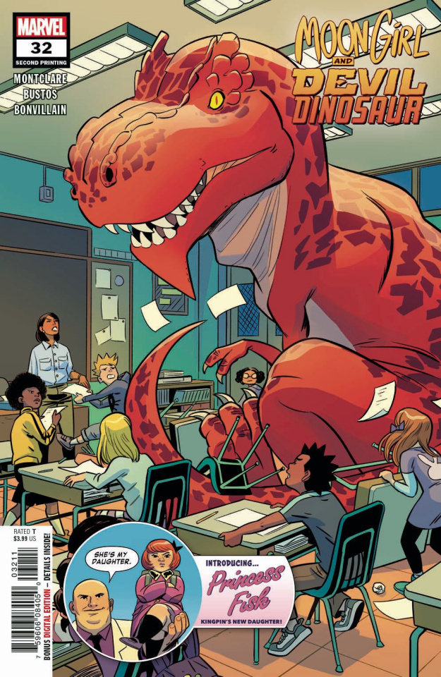 Moon Girl and Devil Dinosaur #32 (Bustos 2nd Printing)
