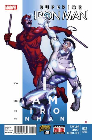 Superior Iron Man #2 (2nd Printing)