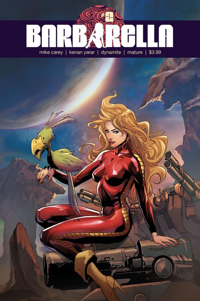 Barbarella #2 (Segovia Cover)
