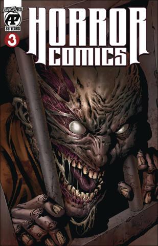 Horror Comics #3 (Skin(Less) Cell Cover)