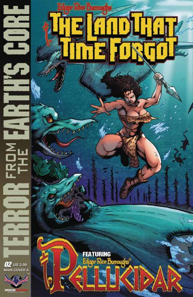 The Land That Time Forgot: From Earth's Core #2 (Connecting Cover)