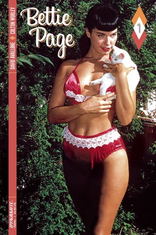 Bettie Page #1 (Color Photo Cover)