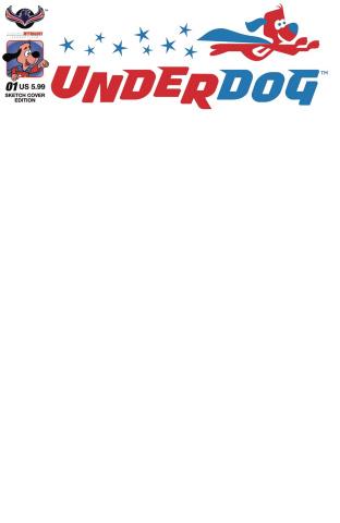 Underdog #1 (Blank Sketch Cover)