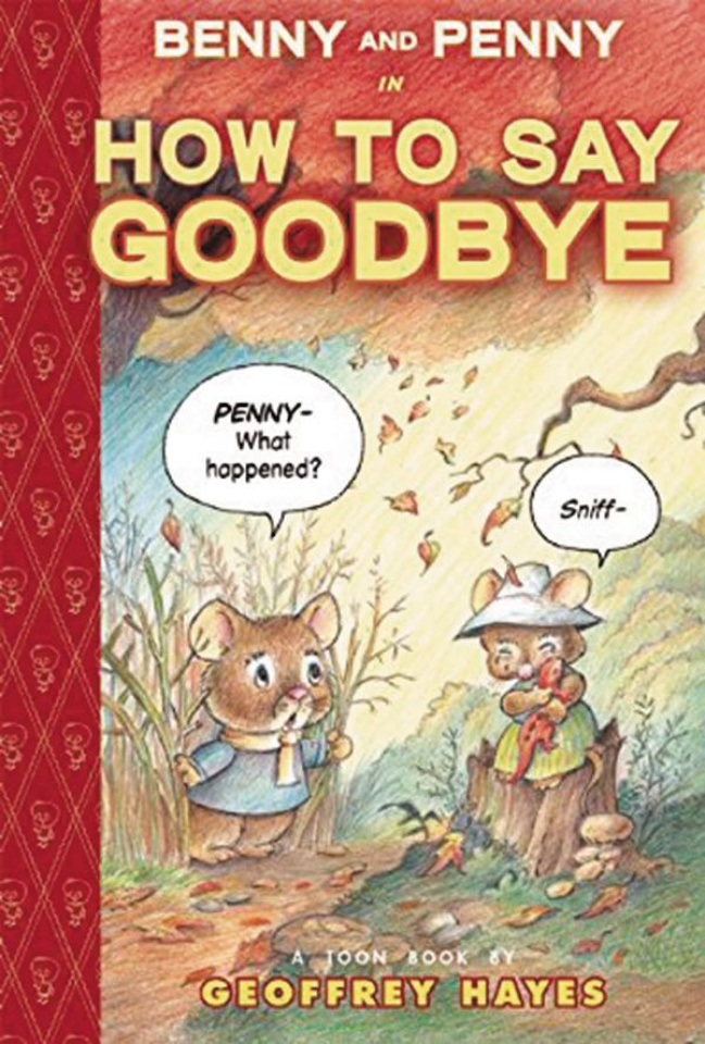 "Benny and Penny in ""How To Say Goodbye"""