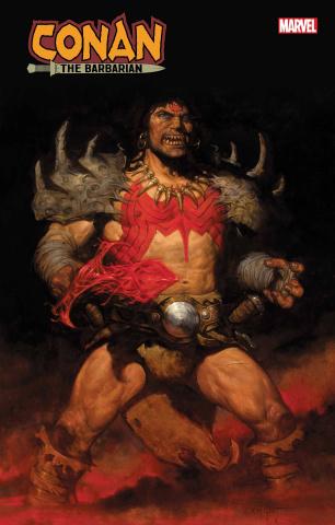 Conan the Barbarian #17 (Gist Cover)