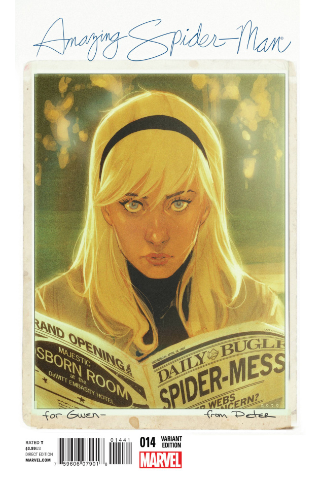 The Amazing Spider-Man #14 (Noto Cover)