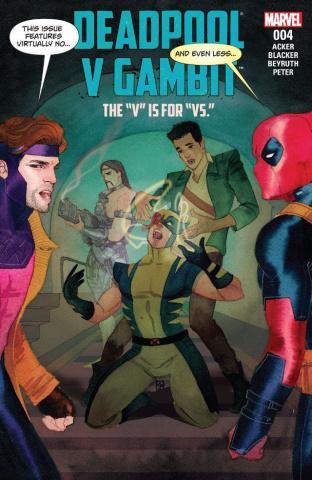 Deadpool vs. Gambit #4