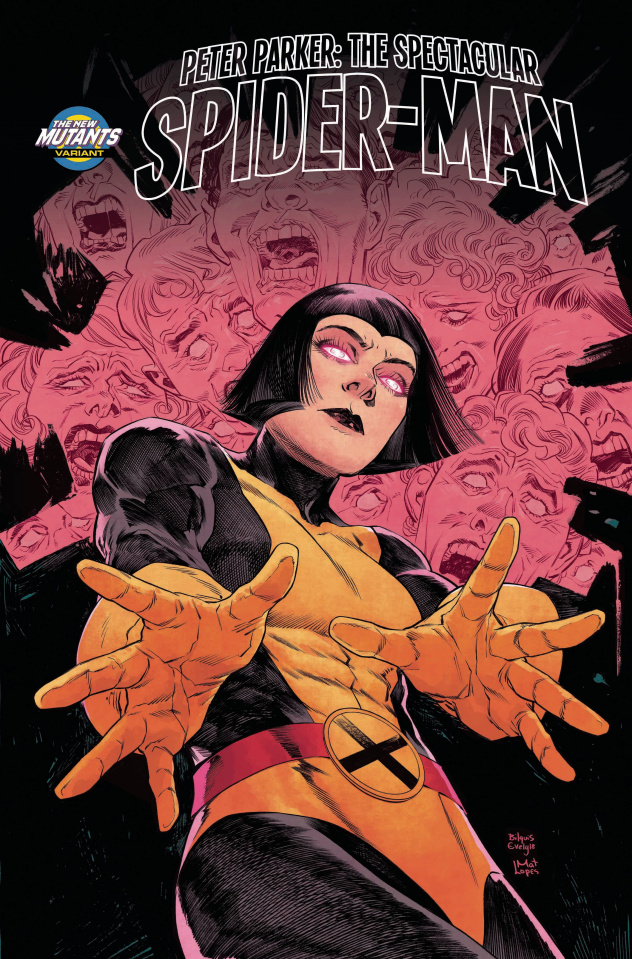 Peter Parker: The Spectacular Spider-Man #301 (Evely New Mutants Cover)