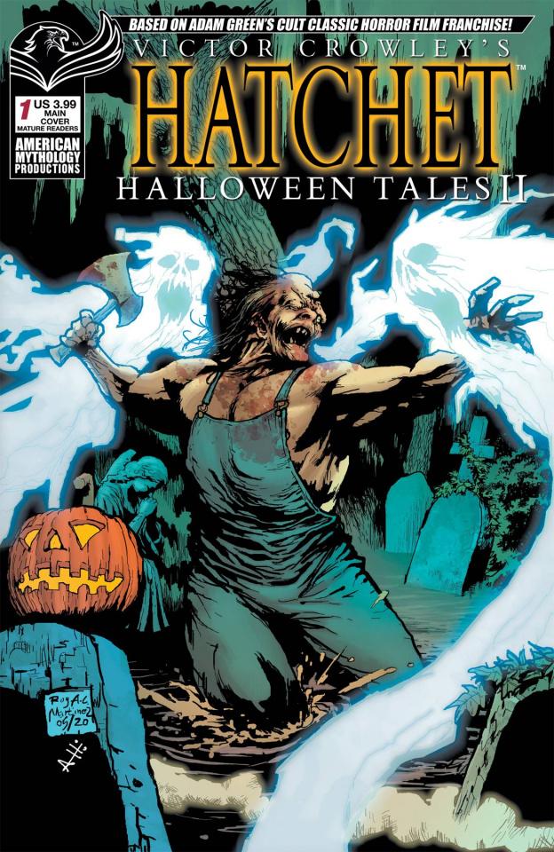 Hatchet: Halloween Tales II (Martinez Cover)